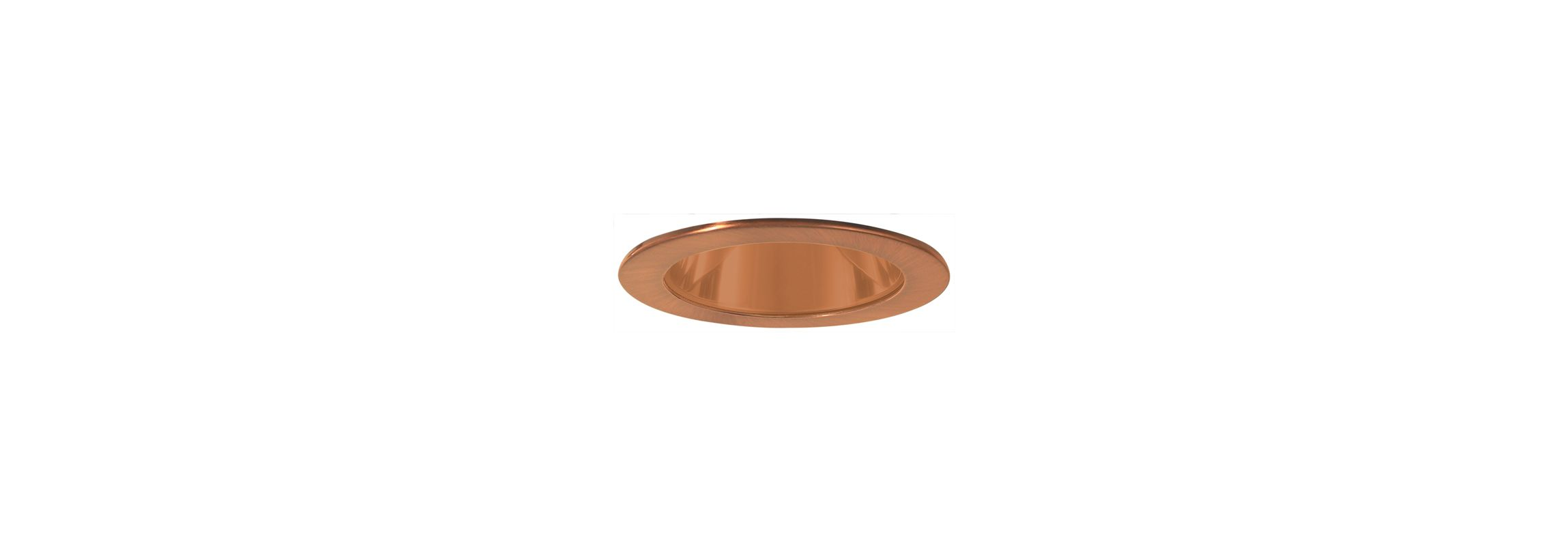 "Elco EL999 4"" Reflector Trim Copper Recessed Lights Reflector Trims"