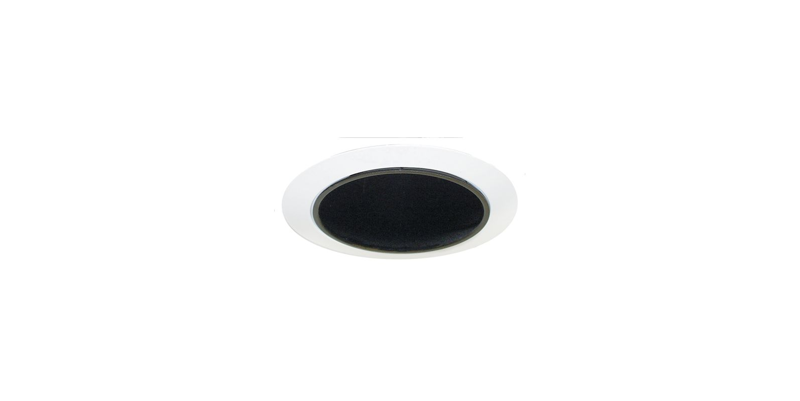 "Elco ELA5099 5"" Reflector with Socket Holder Bracket Black / White"