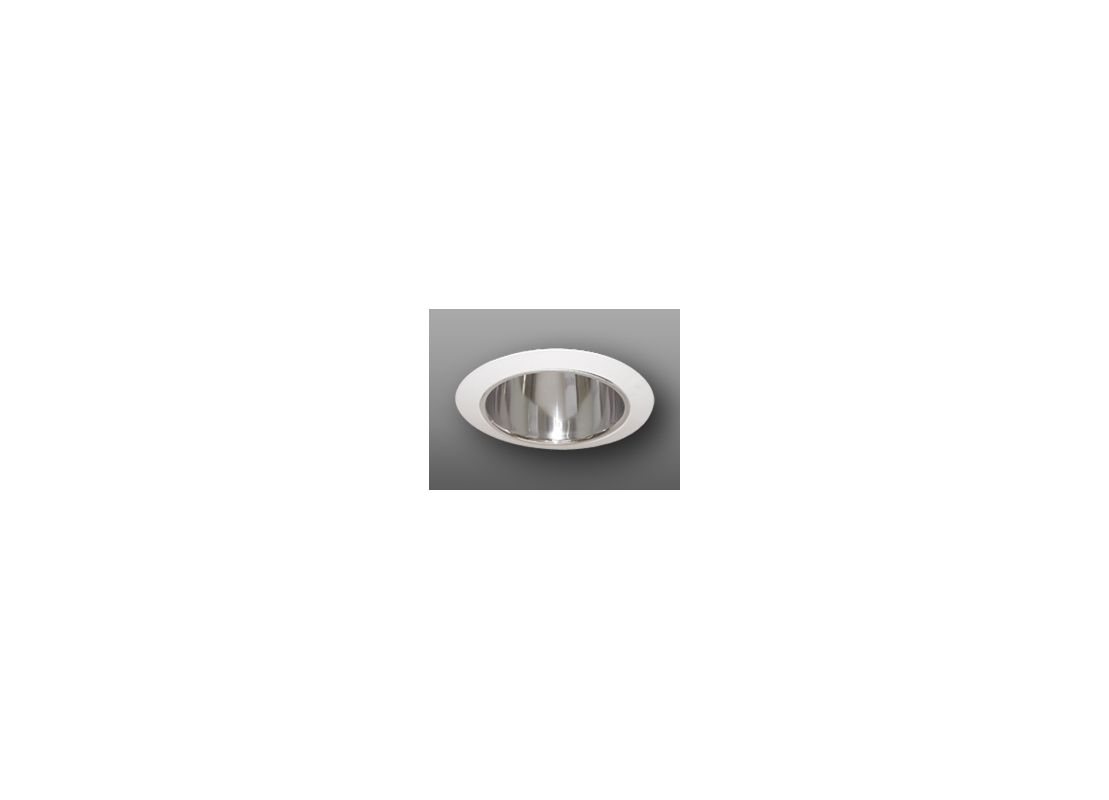 "Elco ELA5099 5"" Reflector with Socket Holder Bracket Clear / White"