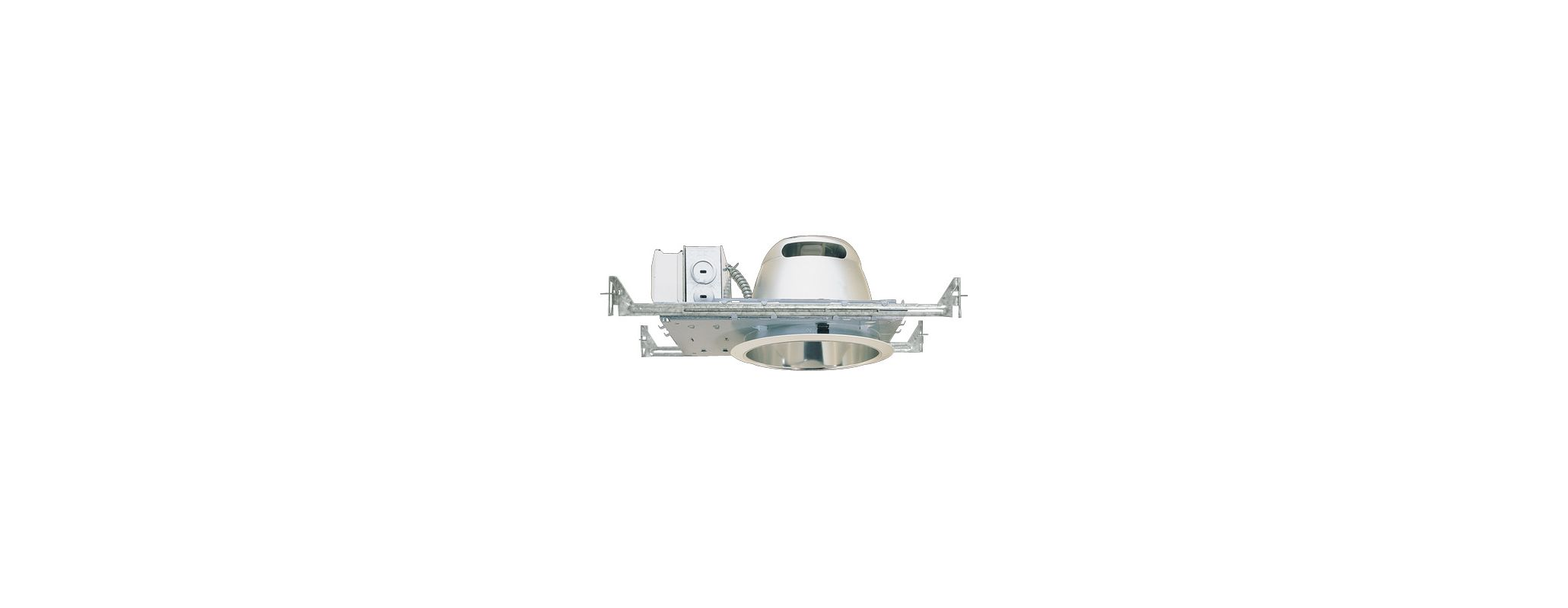"Elco ELH113 7"" 13W Single Light Horizontal CFL Downlight with 120V"