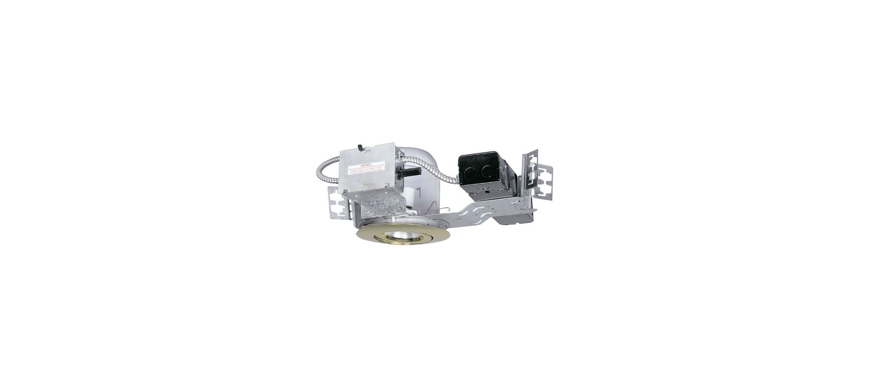 "Elco ELH7M50 6"" 50W Single Light Adjustable HID Downlight with"