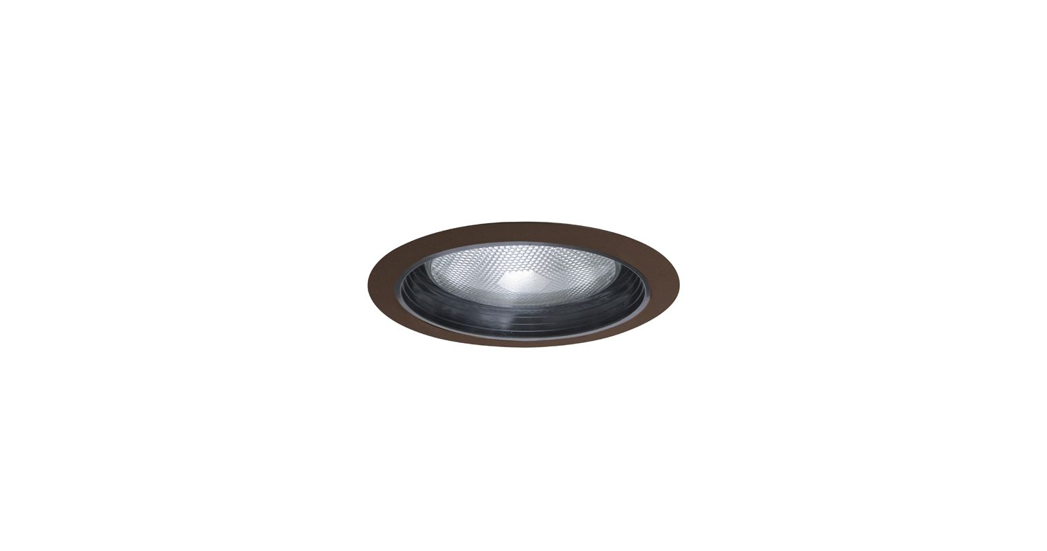 "Elco ELM30 6"" Recessed Lighting Trim - Metal Baffle Black / Bronze"