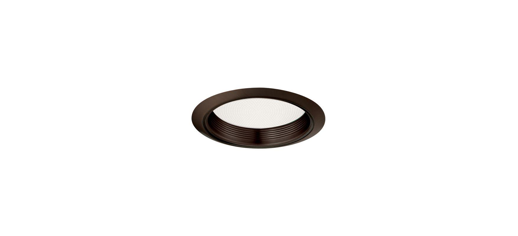 "Elco ELM42 6"" Baffle with Regressed Alabalite Lens Bronze Recessed"