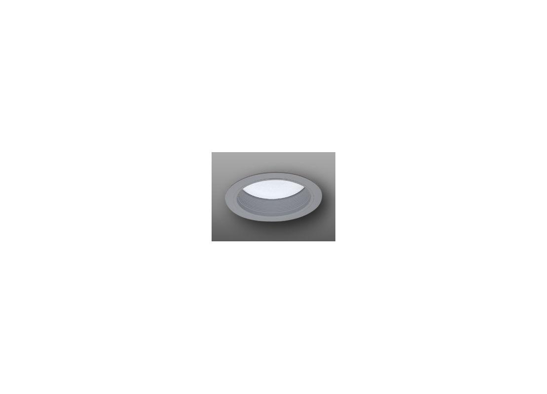 """Elco ELM42 6"""" Baffle with Regressed Alabalite Lens Nickel Recessed"""