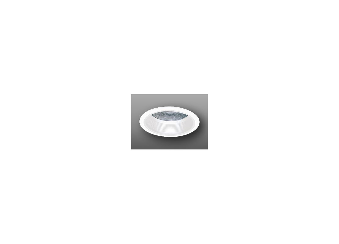 """Elco ELM43 6"""" Baffle with Regressed Fresnel Lens White Recessed Lights"""