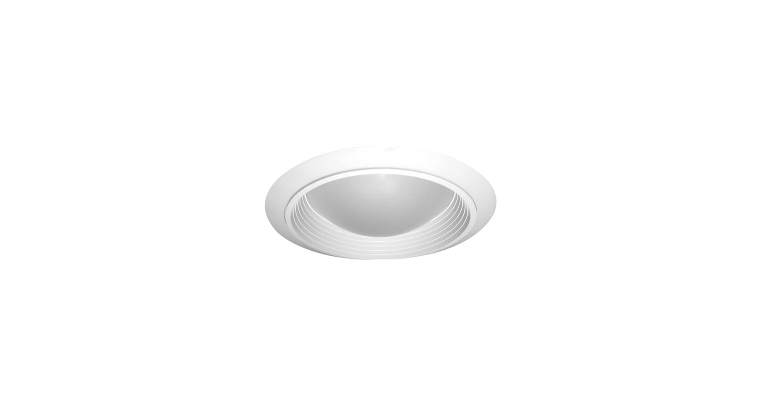 "Elco ELM47W 6"" Baffle with Domed Regressed Frosted Lens White Recessed Sale $19.90 ITEM: bci1661070 ID#:ELM47W :"