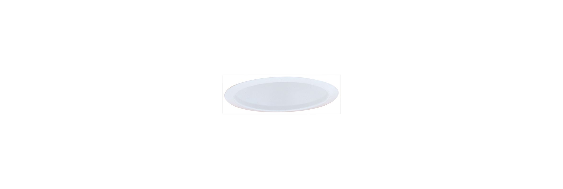 "Elco ELM501 5"" Airtight One Piece Metal Cone Reflector White Recessed"