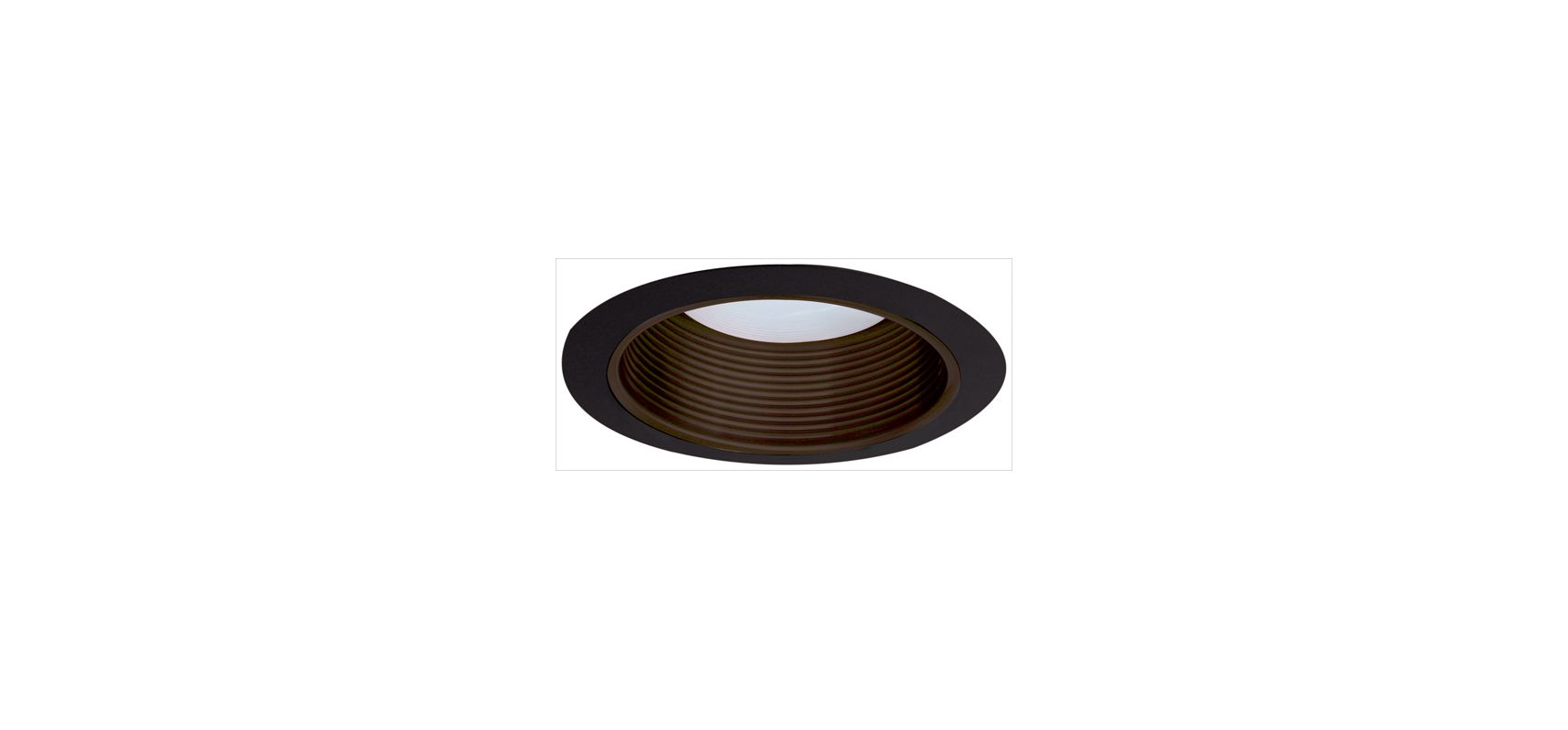 "Elco ELM530 5"" Metal Stepped Baffle Bronze / Black Recessed Lights Sale $19.90 ITEM: bci1661093 ID#:ELM530BZB :"