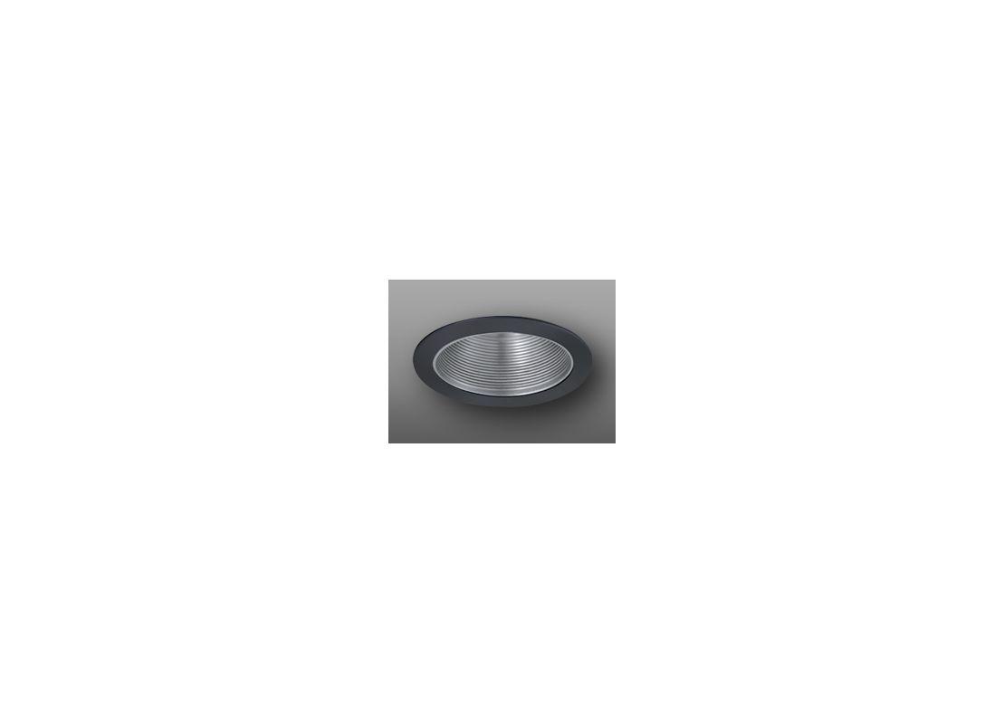 """Elco ELM530 5"""" Metal Stepped Baffle Nickel / Black Recessed Lights Sale $19.90 ITEM: bci1661105 ID#:ELM530NB :"""