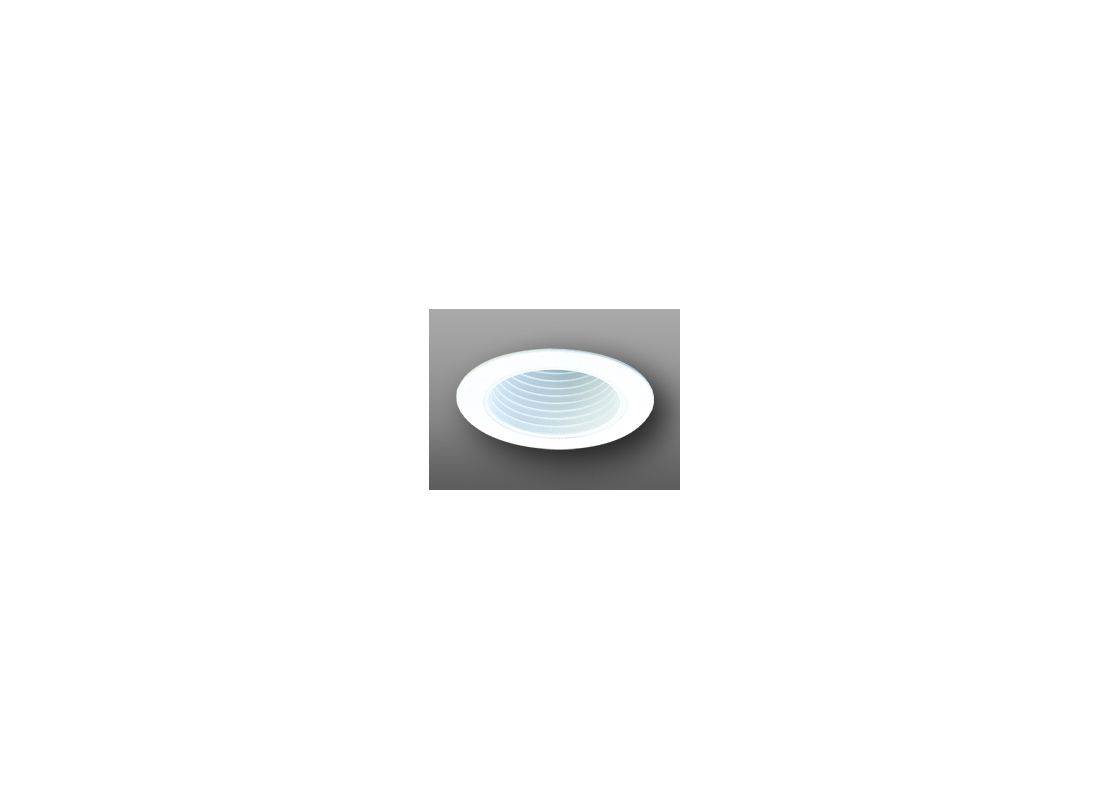"Elco ELP530 5"" Phenolic Baffle White Recessed Lights Baffle Trims"