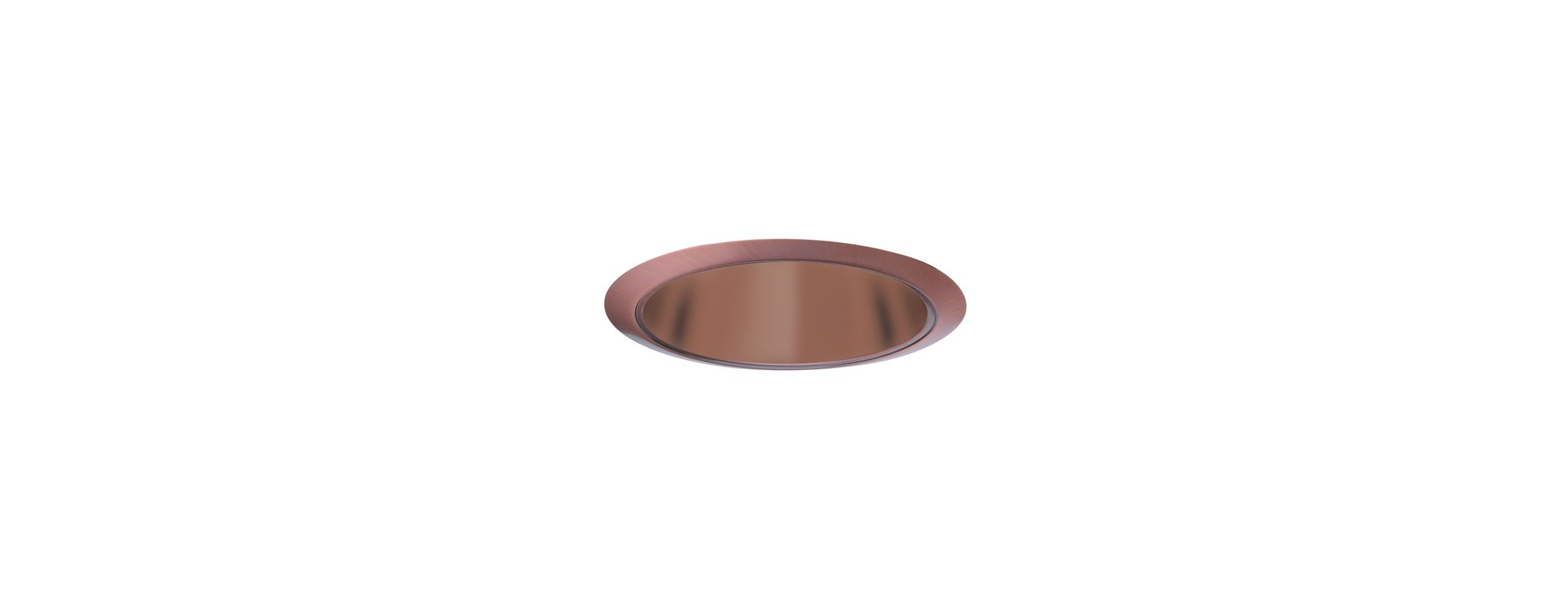 "Elco ELS30 6"" Reflector Trim for 75W Bulbs Copper Recessed Lights"