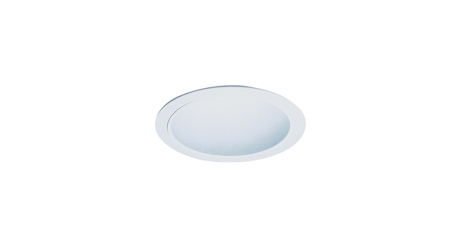 "Elco ELS30 6"" Reflector Trim for 75W Bulbs White Recessed Lights"