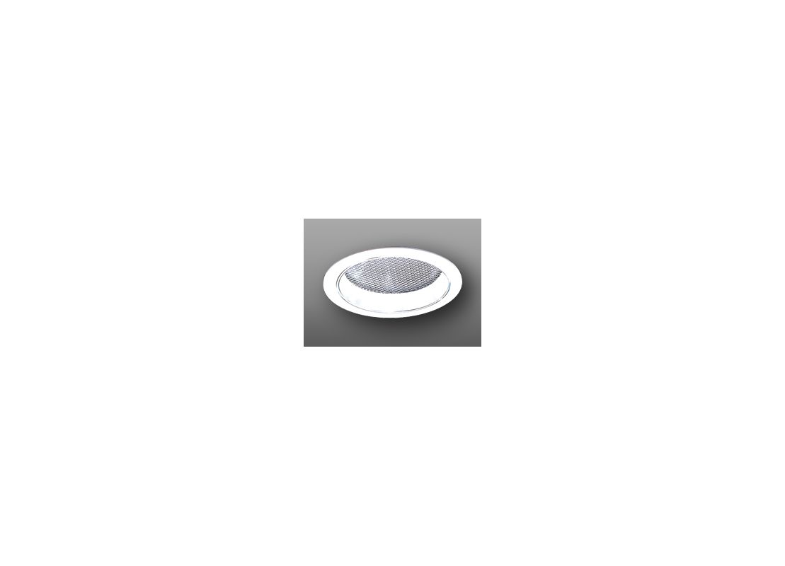 "Elco ELS42 6"" Reflector with Regressed Albalite Lens White Recessed"