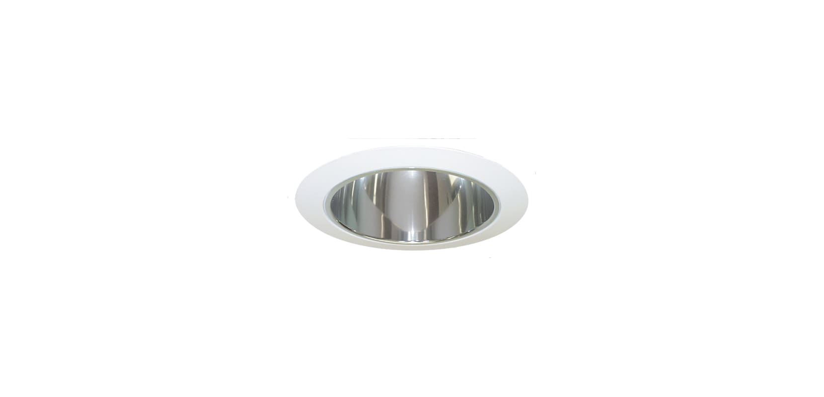 Recessed Lighting Torsion Spring Bracket : Elco els c clear white quot phenolic baffle trim with