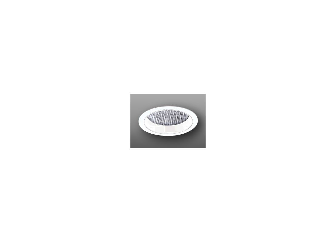 "Elco ELS542 5"" Regressed Albalite Lens and Reflector White Recessed"
