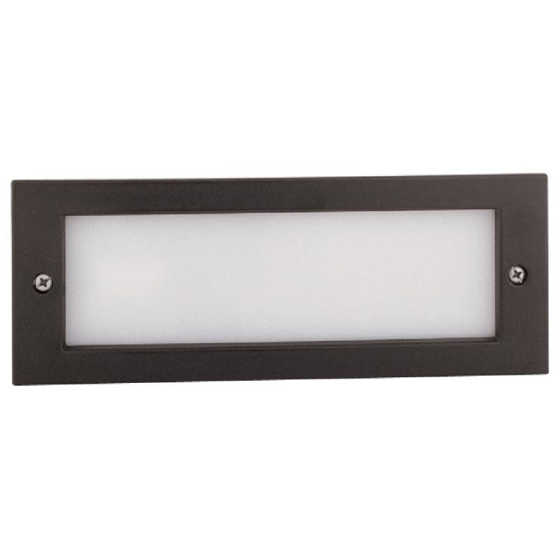 Elco Elst32b Black 40w Incandescent Brick Light With Open