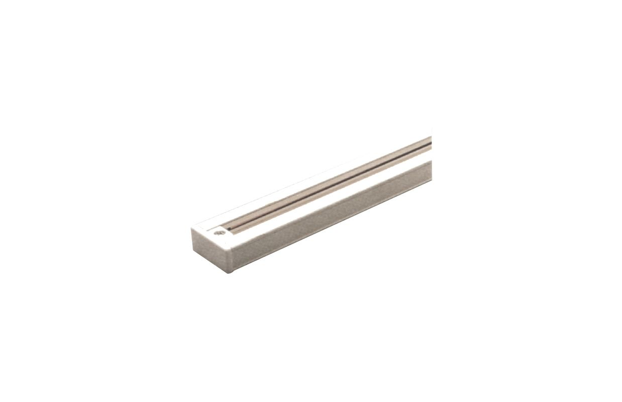 Elco EP004 4ft. Track Segment for Track-22 System White Indoor