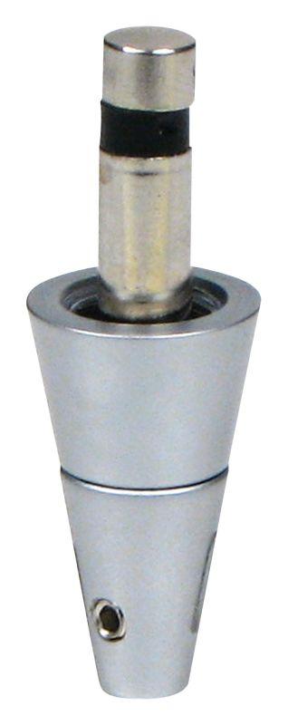 Elco EP865 Pendant Quick Jack Adapter Nickel Indoor Lighting