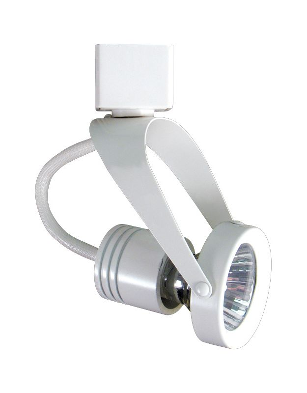 Elco ET1625 50W Line Voltage GU10 Base MR16 Gimbal Ring Fixture White