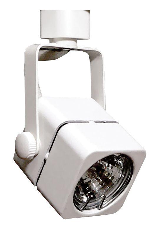 Elco ET2132 35W Mini-Track MR11 Mini Soft Square Fixture White Indoor