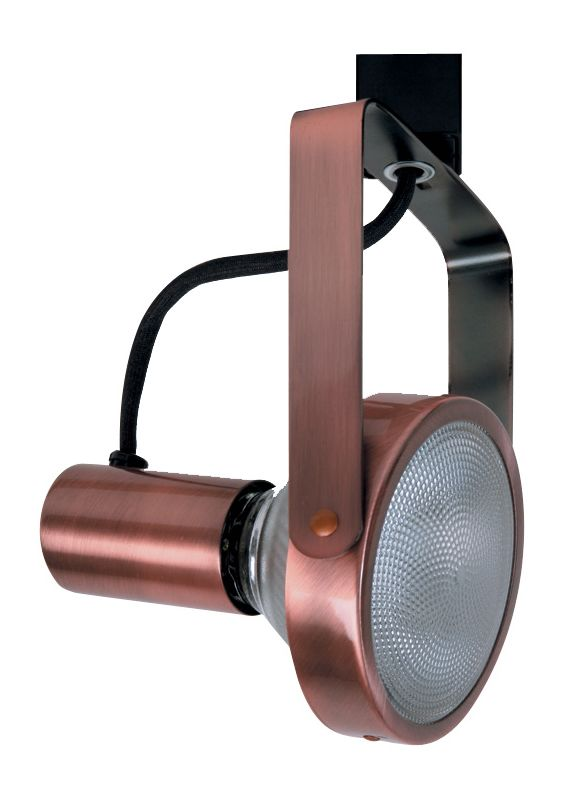 Elco ET631 150W Line Voltage PAR38 Gimbal Fixture Copper Indoor