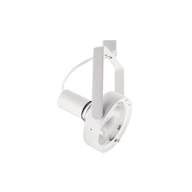 Elco ET633 150W Line Voltage PAR38 Industrial Gimbal Fixture White