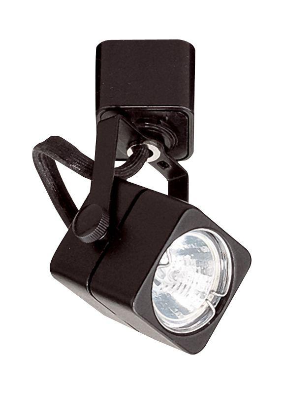 Elco ET932 50W Track-22 MR16 Soft Square Fixture Black Indoor Lighting