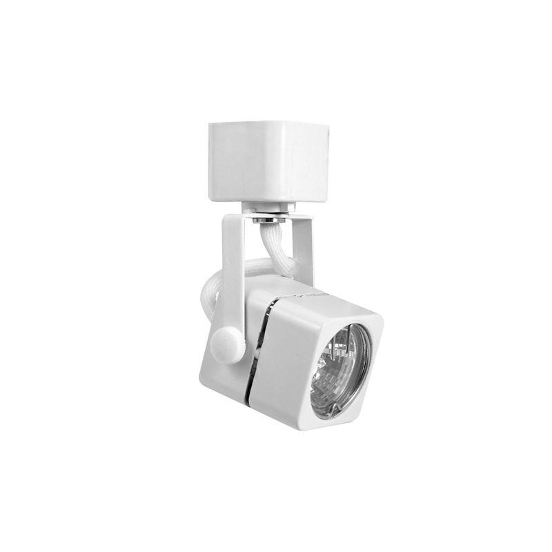 Elco ET932 50W Track-22 MR16 Soft Square Fixture White Indoor Lighting