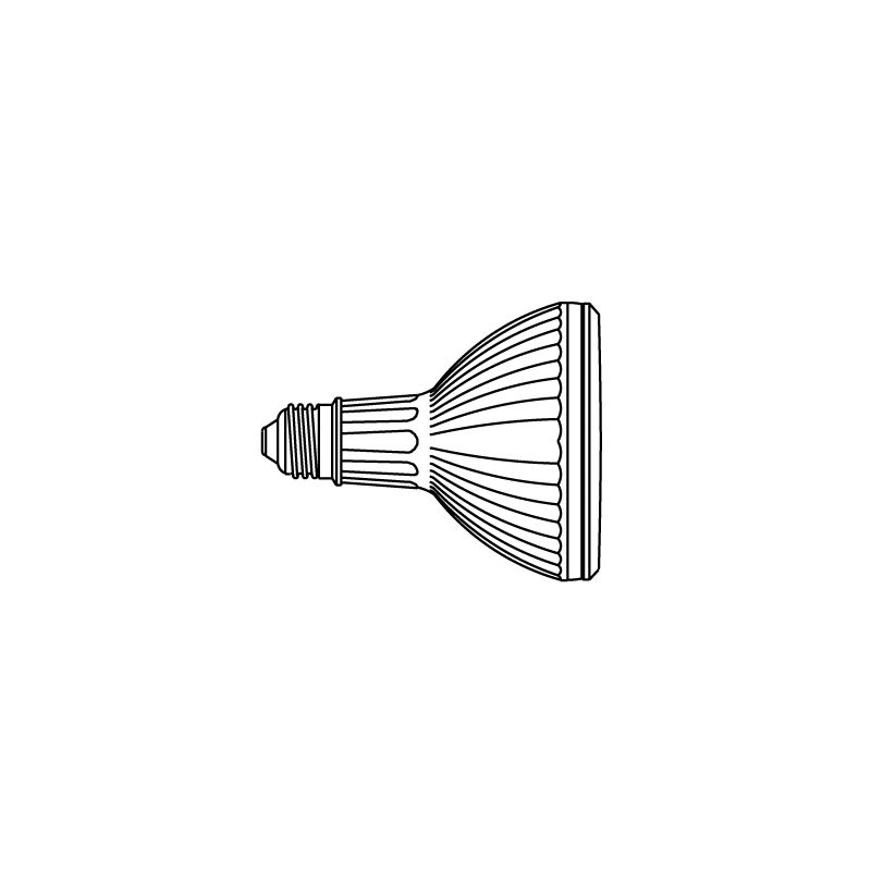 Elco PAR30S35M 39W PAR30 Spot Beam Lamp Bulbs Halogen
