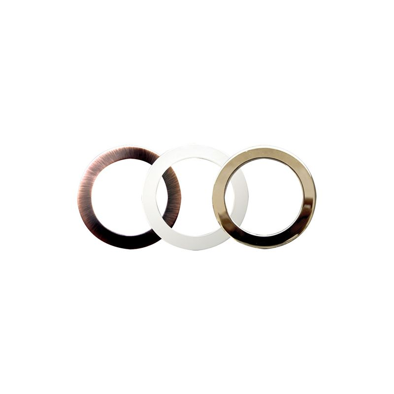 "Elco RM3 3"" Oversized Metal Trim Rings Copper Indoor Lighting trim kit"