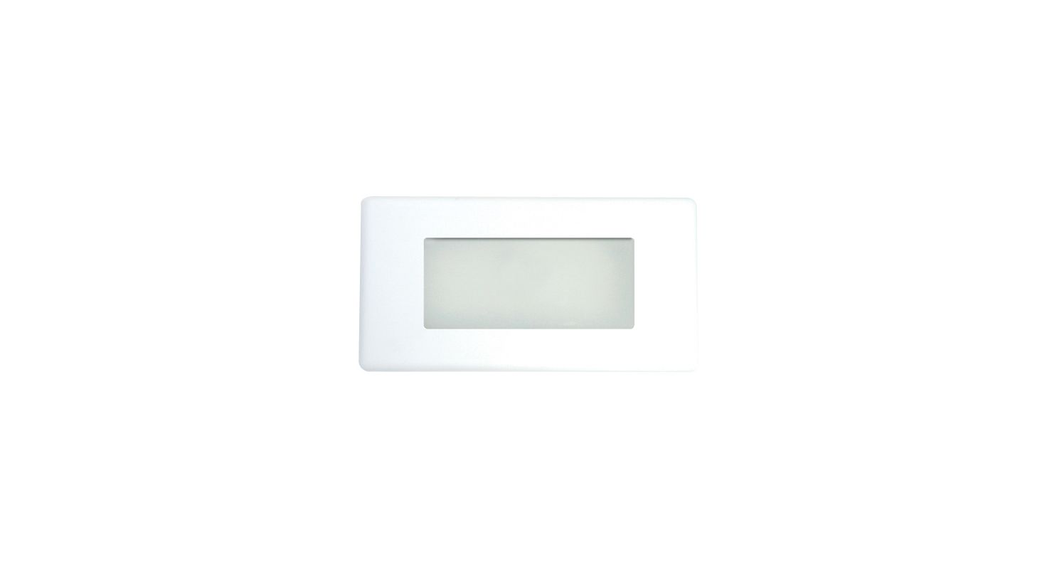 "Elco ELST20 5""H Energy Efficient LED Step Light with Frosted Glass"