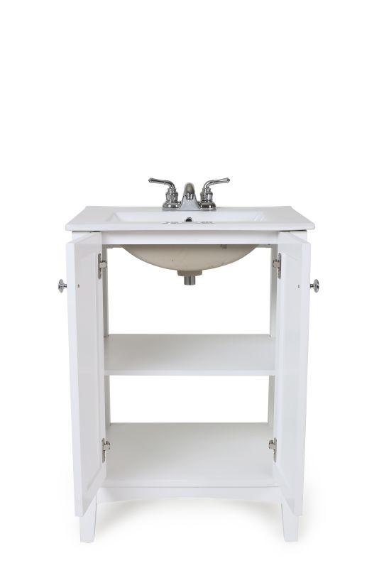 Elegant Lighting VF-2003 Danville 24 Inches Wide Freestanding Vanity Sale $368.00 ITEM: bci2976409 ID#:VF-2003 UPC: 848145085663 :