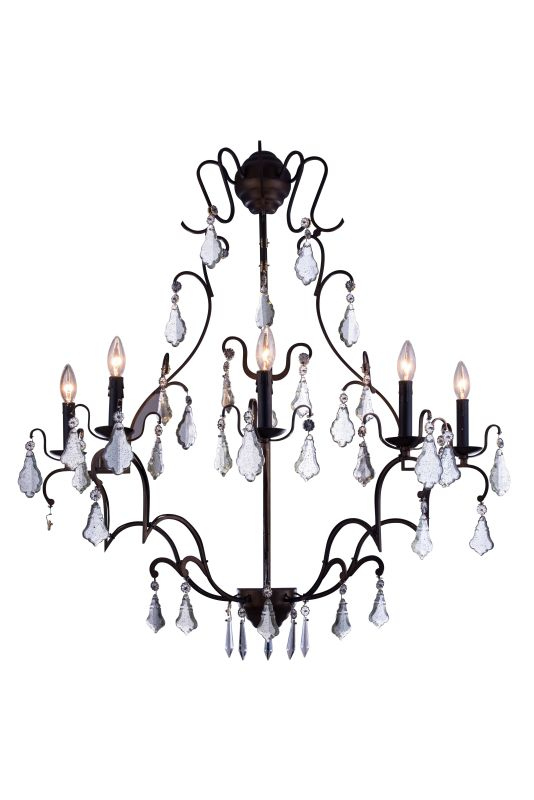 "Elegant Lighting 1132W33 Charlotte 33.5"" Wide 5 Light Wall Sconce from"