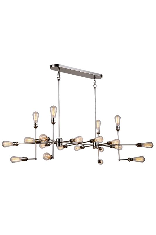 """Elegant Lighting 1139D49 Ophelia 49"""" Wide 20 Light Chandelier from the"""