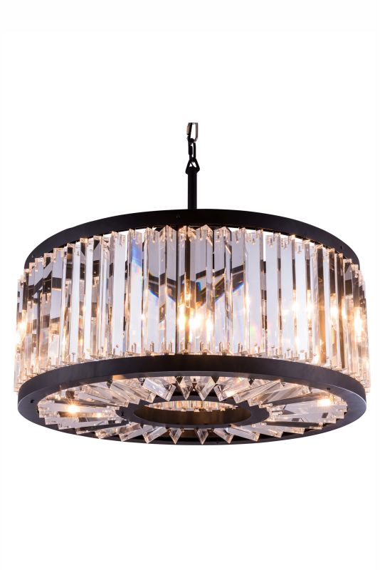 "Elegant Lighting 1203D28 Chelsea 28"" Wide 8 Light Chandelier from the Sale $2900.00 ITEM: bci2764573 ID#:1203D28MB :"