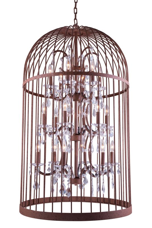 "Elegant Lighting 1207G27 Austin 27"" Wide 18 Light Chandelier from the Sale $2900.00 ITEM: bci2764625 ID#:1207G27RI :"