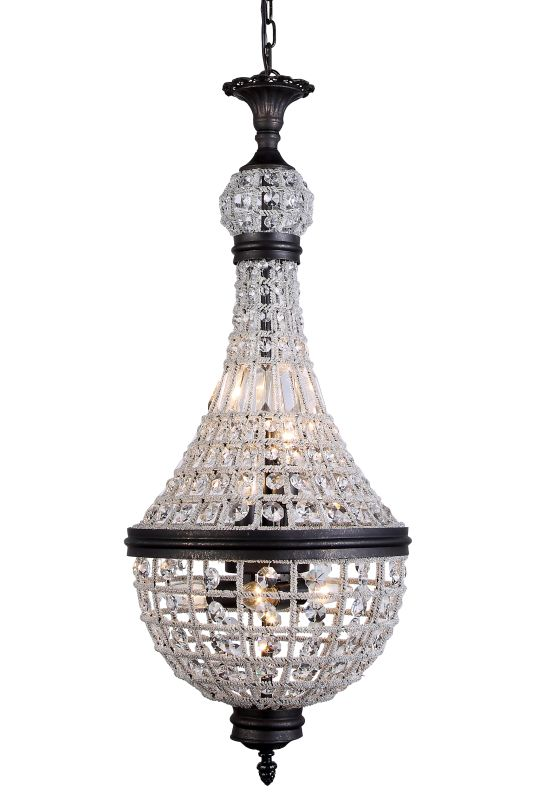 "Elegant Lighting 1209D13 Stella 13.5"" Wide 6 Light Pendant from the"