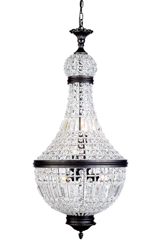 "Elegant Lighting 1209D17 Stella 17.5"" Wide 6 Light Pendant from the"