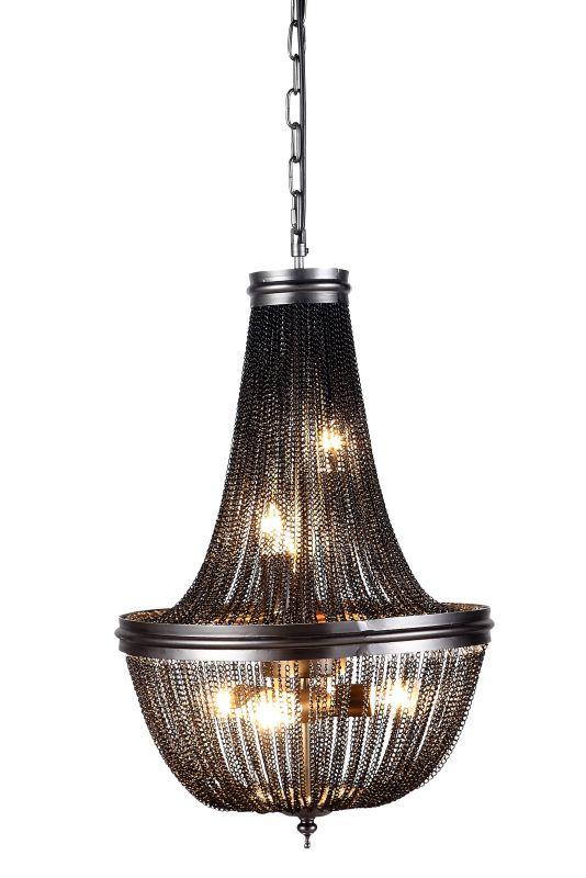 "Elegant Lighting 1210D14 Paloma 14"" Wide 6 Light Pendant from the"