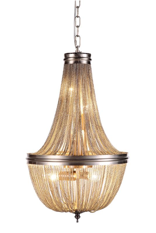 "Elegant Lighting 1210D14 Paloma 14"" Wide 6 Light Pendant from the"
