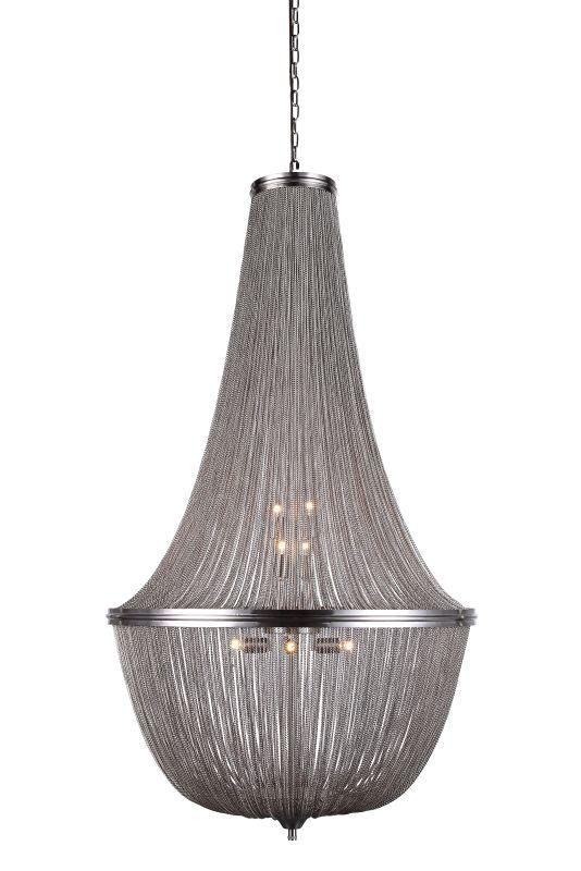 "Elegant Lighting 1210D30 Paloma 30"" Wide 10 Light Pendant from the"