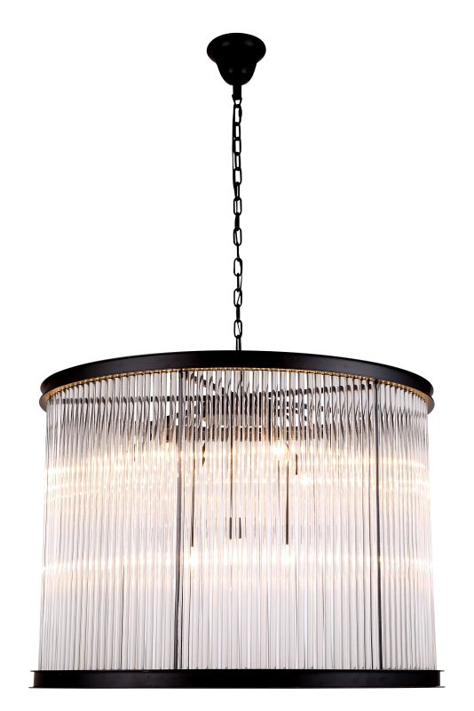 "Elegant Lighting 1217D35 Royale 35.5"" Wide 9 Light Chandelier from the"