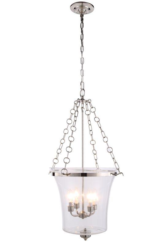 "Elegant Lighting 1423F19 Seneca 19.5"" Wide 4 Light Pendant from the"