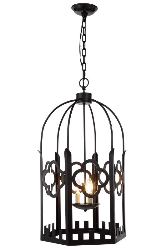 "Elegant Lighting 1440D23 Chalice 23"" Wide 4 Light Pendant from the"