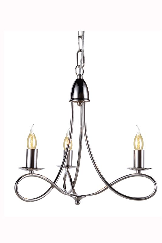 "Elegant Lighting 1452D18 Lyndon 18"" Wide 3 Light Chandelier from the"