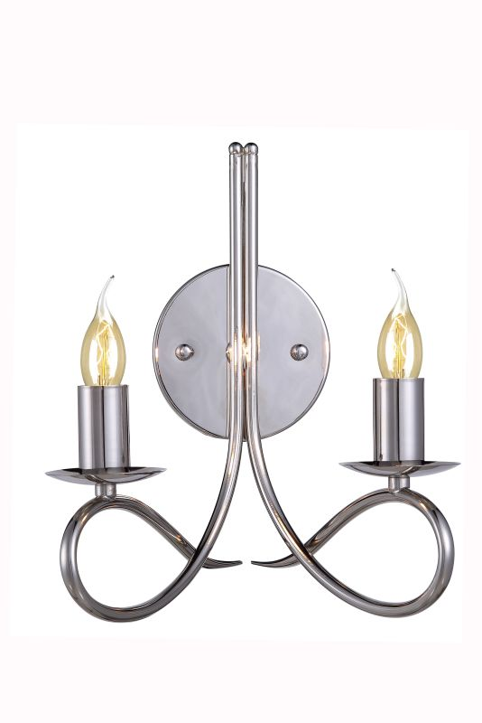 "Elegant Lighting 1452W9 Lyndon 10"" Wide 2 Light Wall Sconce from the"