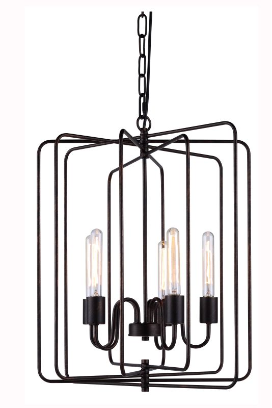 "Elegant Lighting 1454D20 Lewis 20"" Wide 5 Light Chandelier from the"