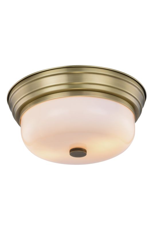 "Elegant Lighting 1479F15 Ellis 2 Light 15"" Wide Flush Mount Ceiling"