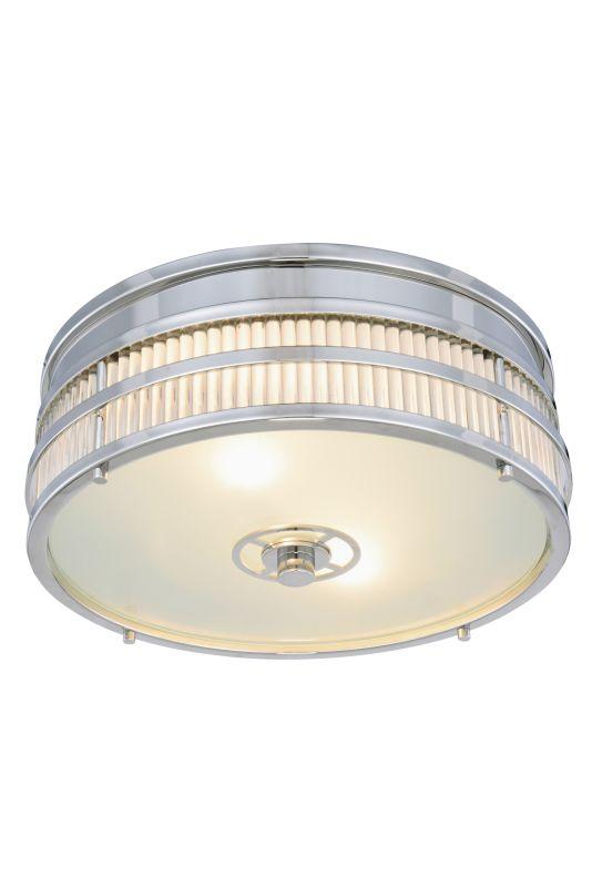 """Elegant Lighting 1481F12 Anjelica 2 Light 13"""" Wide Flush Mount Ceiling"""