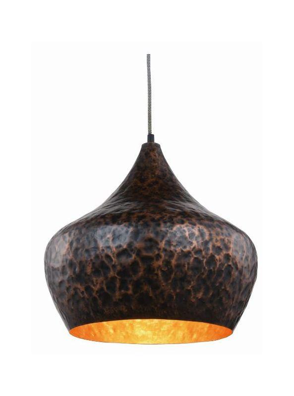 """Elegant Lighting 1484D15 Seville 1 Light 15"""" Wide Pendant with"""